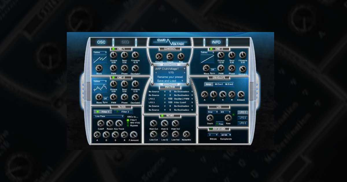 Download Club Voltage VST Synth Free Now