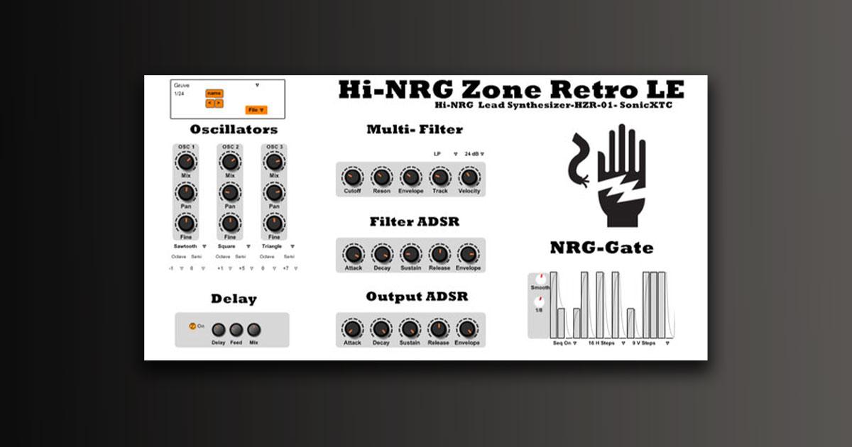 Download Hi-NRG Zone Retro LE Plugin Free