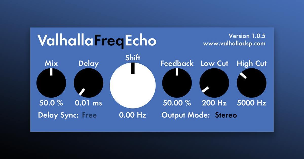 Download Valhalla Freq Echo Plugin For PC & Mac