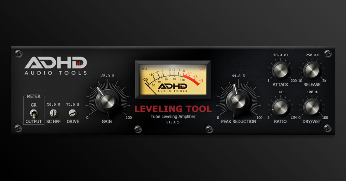 Get AdHd Leveling Tool VST Free For PC & Mac Now