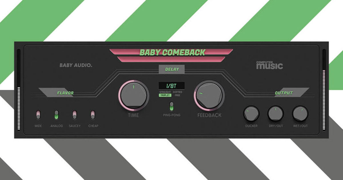 Baby Comeback - Free Delay Plugin For PC and Mac