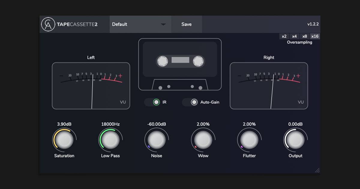 Download Tape Cassette 2 Plugin Free Now