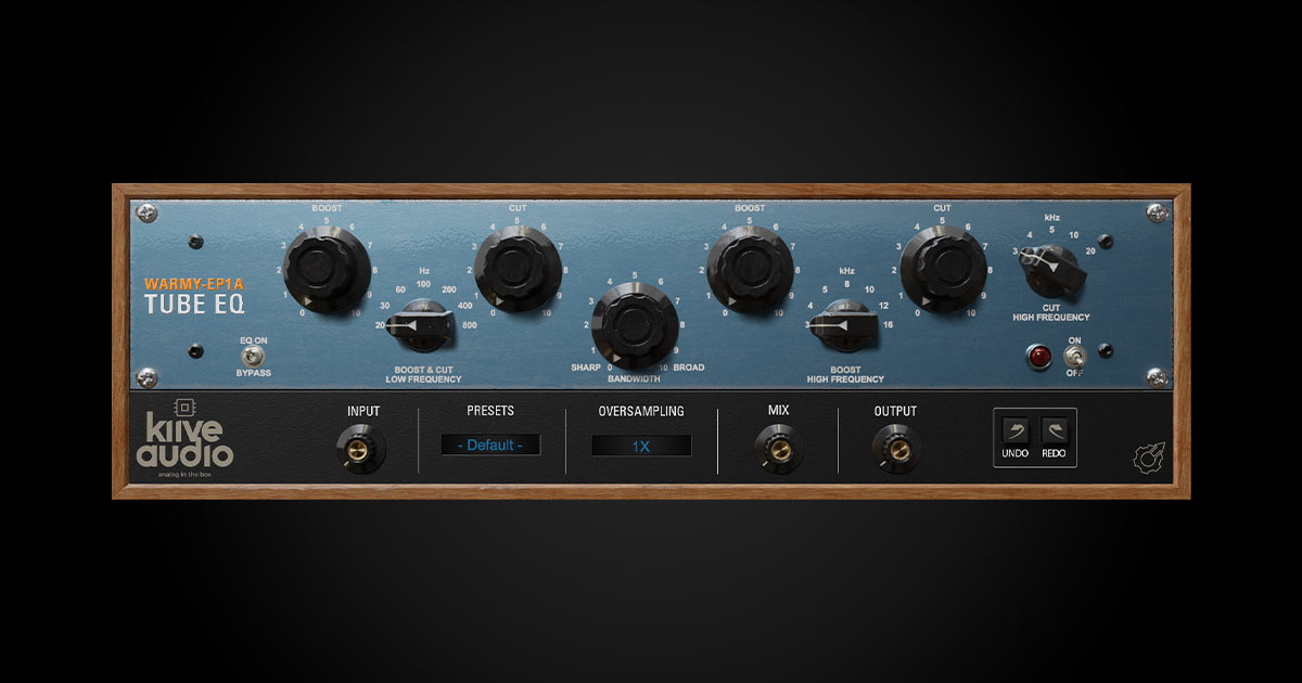 Download Warmy EP1A Tube EQ Plugin For Free