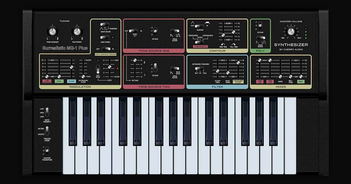 Download Surrealistic MG-1 Plus VST Synth For PC & Mac