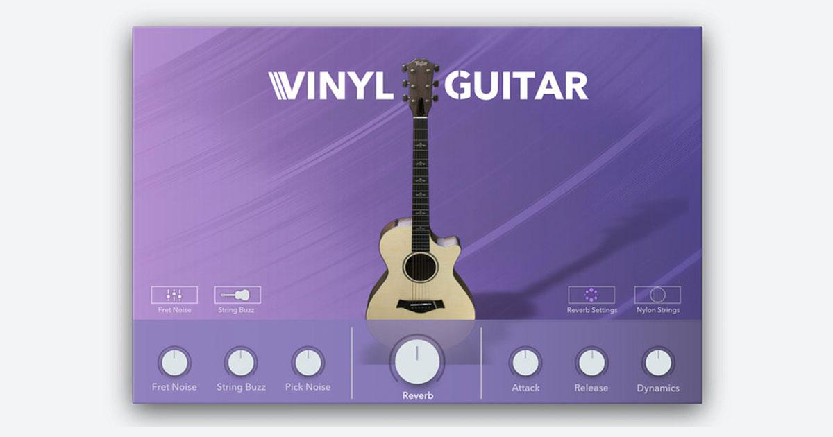 Vinyl Guitar - Free VST and AU Plugin